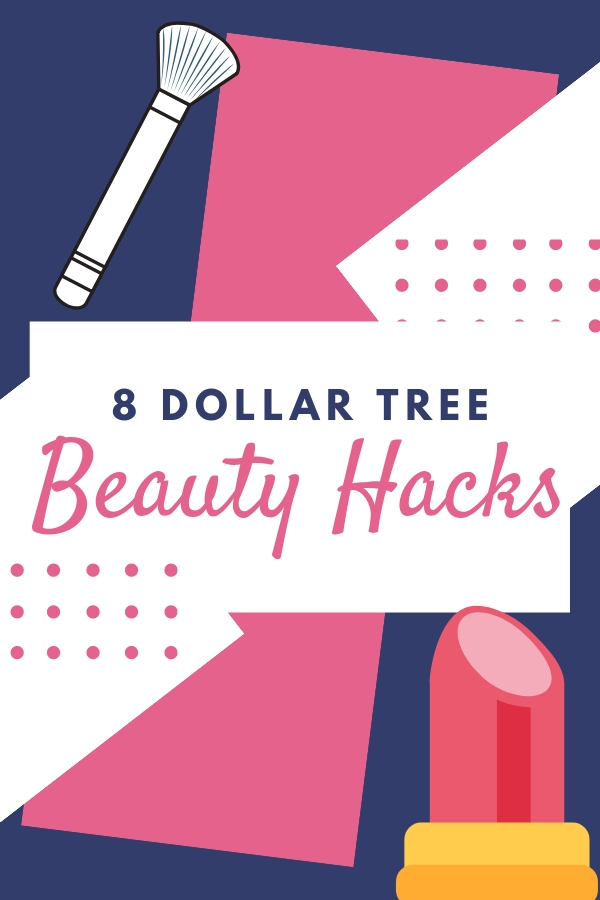 8 Dollar Tree beauty hacks that will blow your mind, but not your wallet. #frugalbeauty