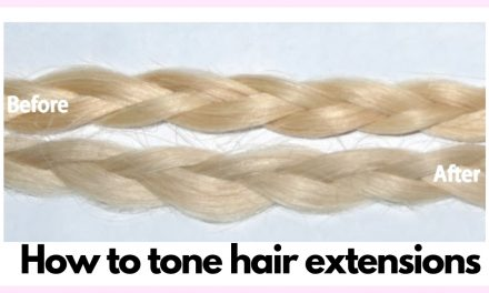 How to Tone Hair Extensions