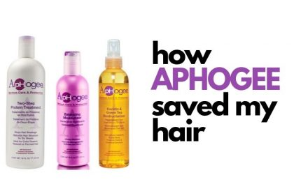How Aphogee Saved My Hair