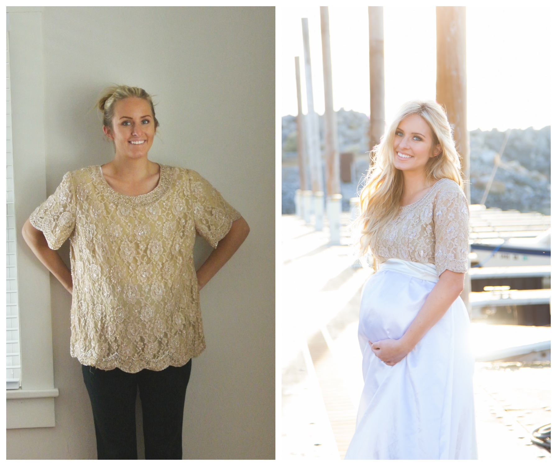 Golden Refashion Part Two: The Tutorial