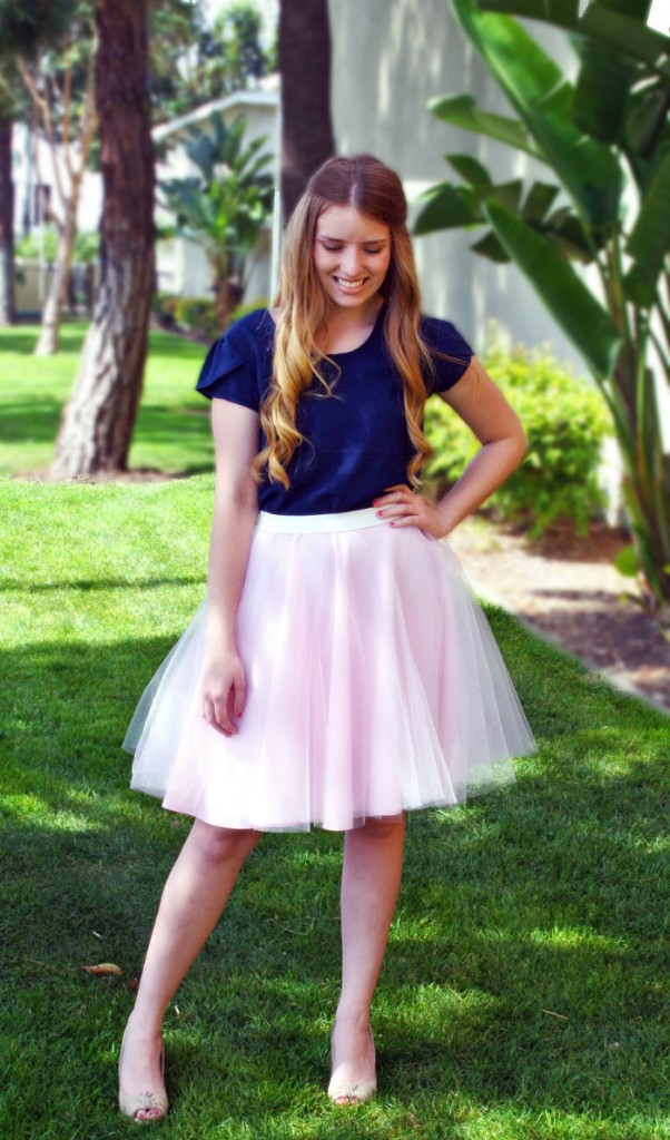 Tulle Skirt Tutorial