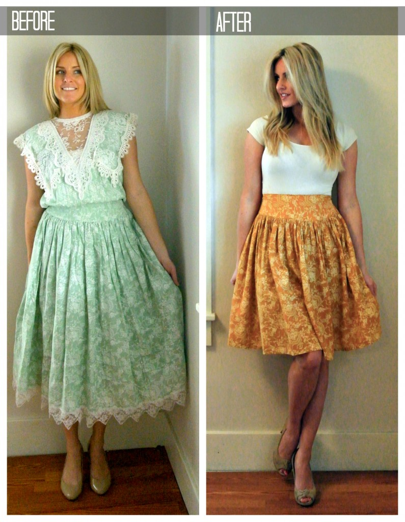 One Floral Dress Refashion, Three Results featured by top US sewing blogger, Kara Metta | Awesome refashion blog