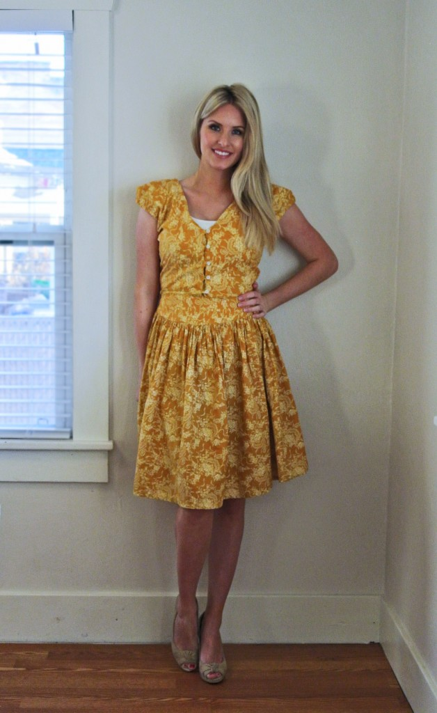 One Floral Dress Refashion, Three Results featured by top US sewing blogger, Kara Metta | Dress refashion tutorial. Tons of them on this blog!