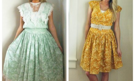 One Floral Dress Refashion, Three Results