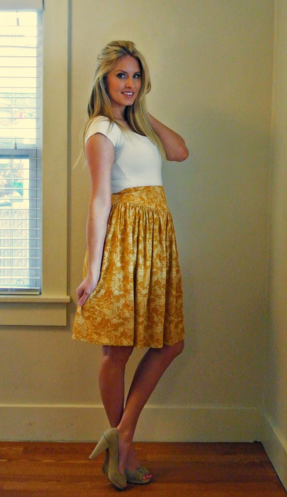 One Floral Dress Refashion, Three Results featured by top US sewing blogger, Kara Metta | Refashion blog with tons of ideas