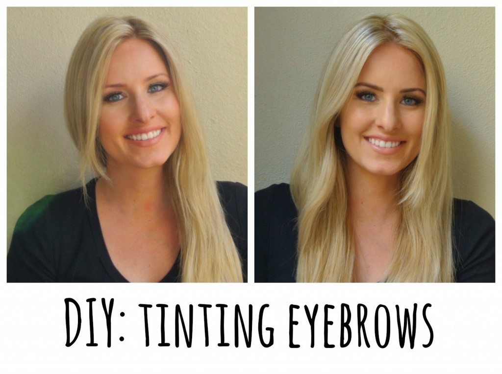 How to Tint Eyebrows with Refectocil, a beauty tutorial featured by top US lifestyle blogger, Kara Metta | How to dye your eyebrows at home. How is it this easy?!?! Before and after with refectocil.