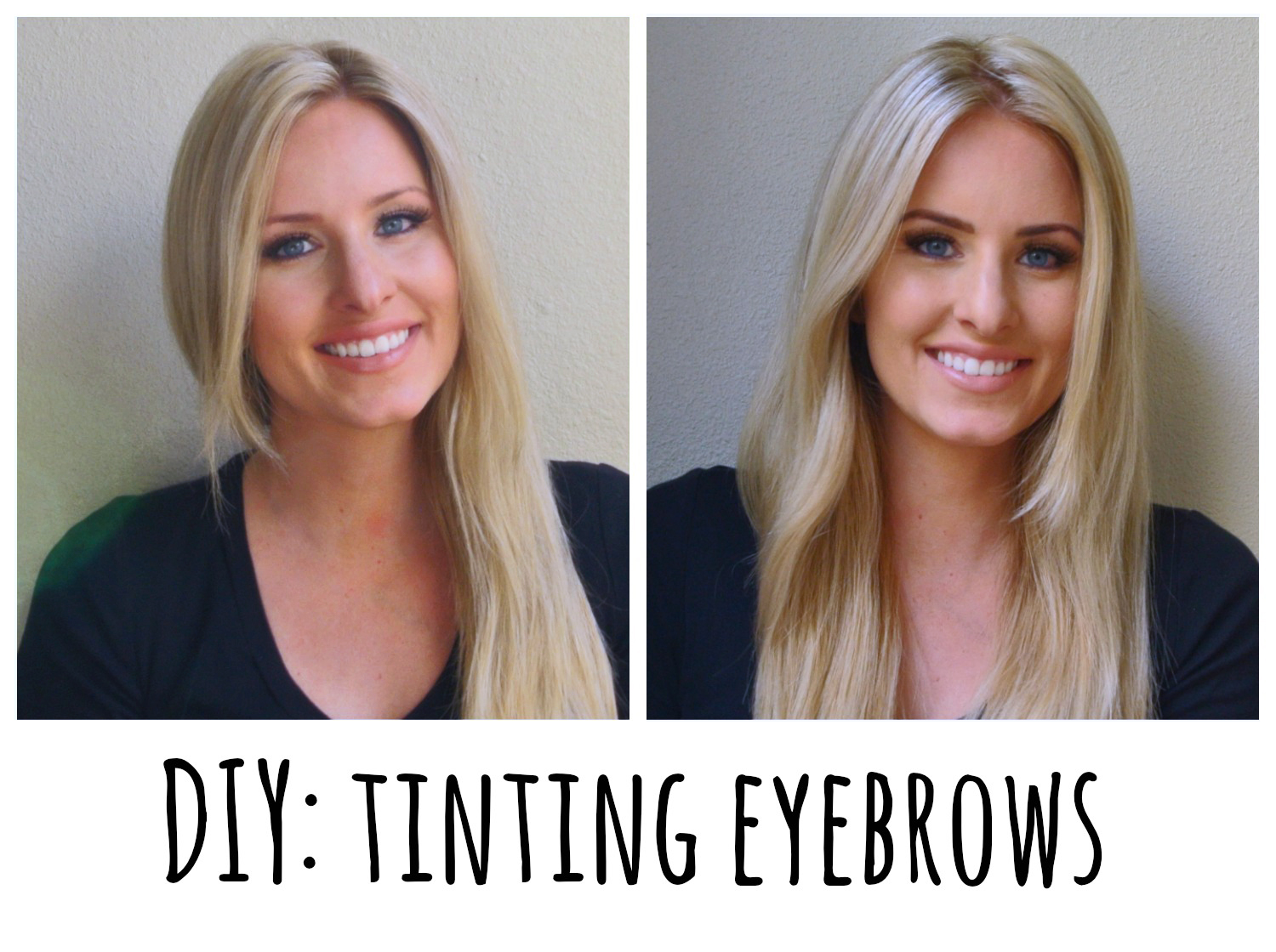 DIY: How to tint your eyebrows with Refectocil