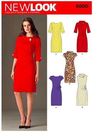 Simplicity 6000, altering a pattern to meet your needs.