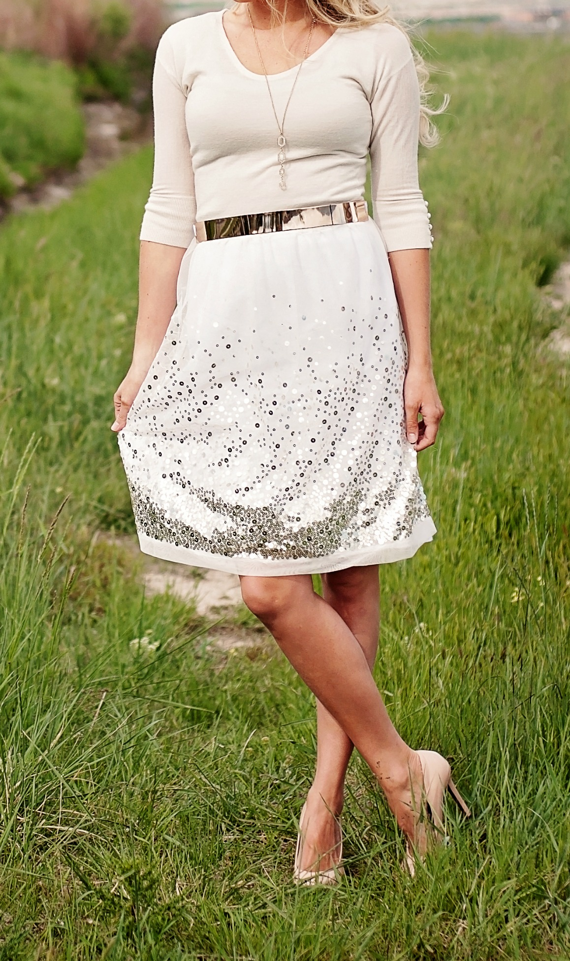 Gorgeous sequin skirt