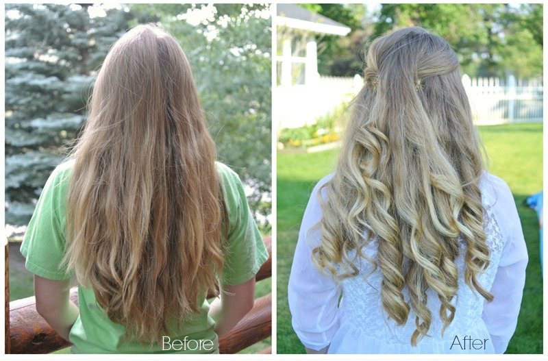 DIY Balayage highlights, she links to a page that tells you what products she used from Sallys. Main product is Clairol 7th Stage.