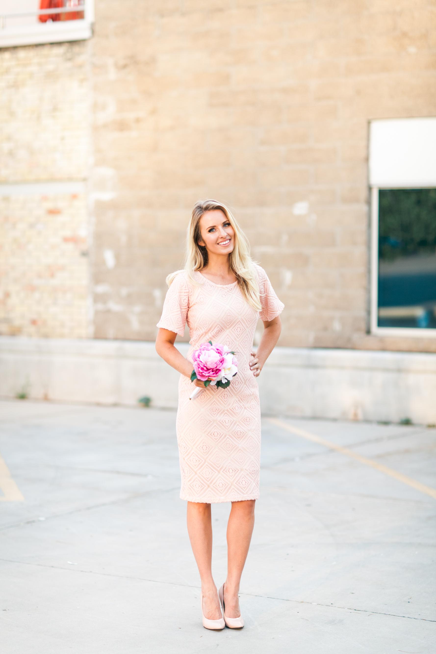 Modest bridesmaid dress ideas.  Love it!