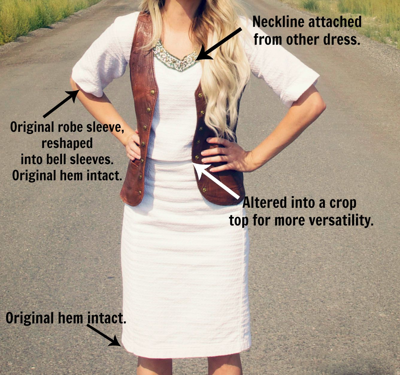 Boho Chic Refashion