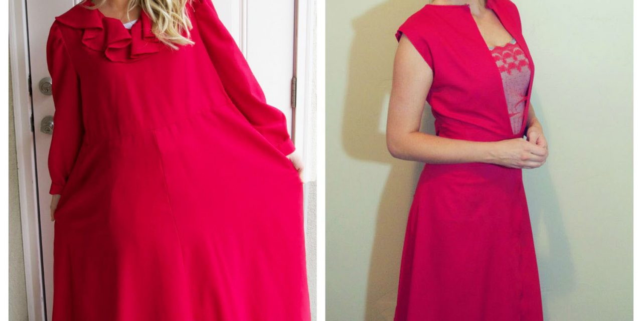 Refashion Runway Week 4: Maxi Dress or Skirt and an Apology