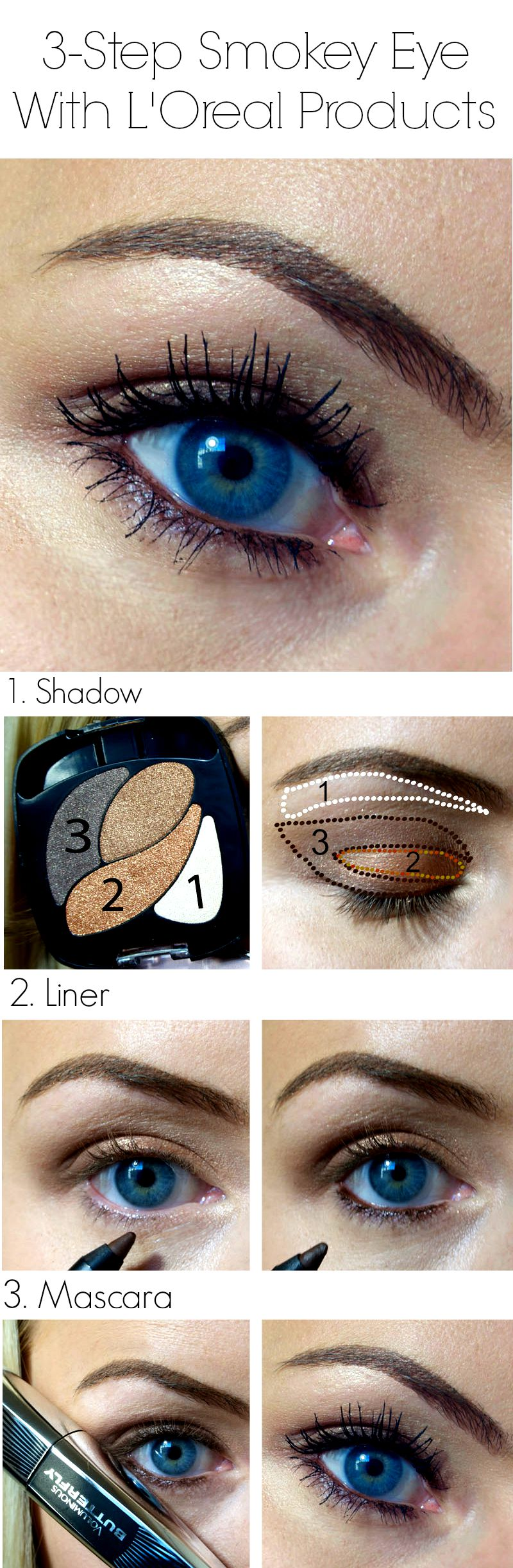Easy 5-minute makeup using L'Oreal products #shop