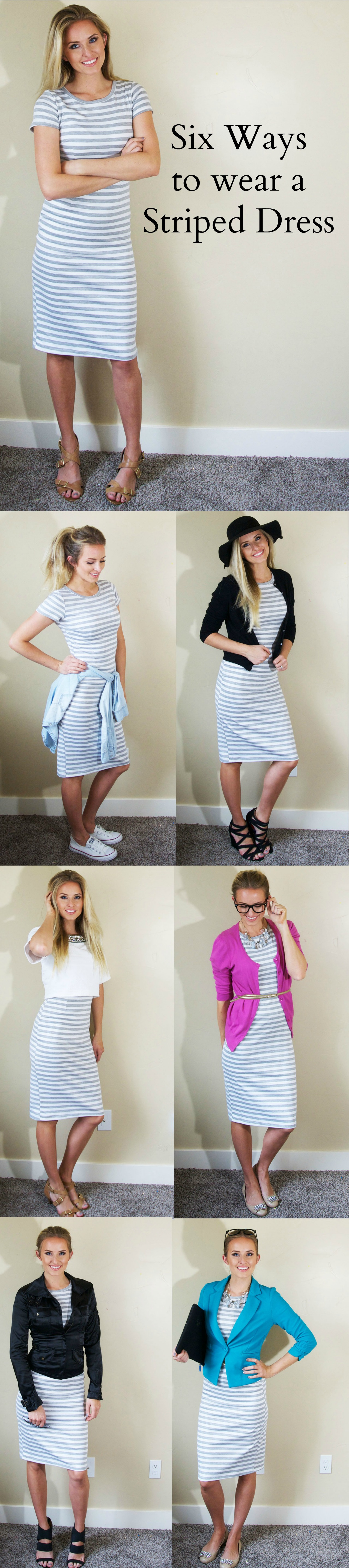This dress!  So many cute ways to wear it!