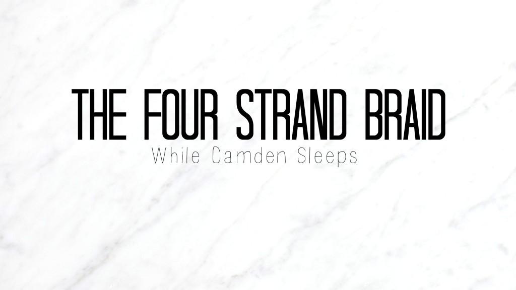 4 strand braid