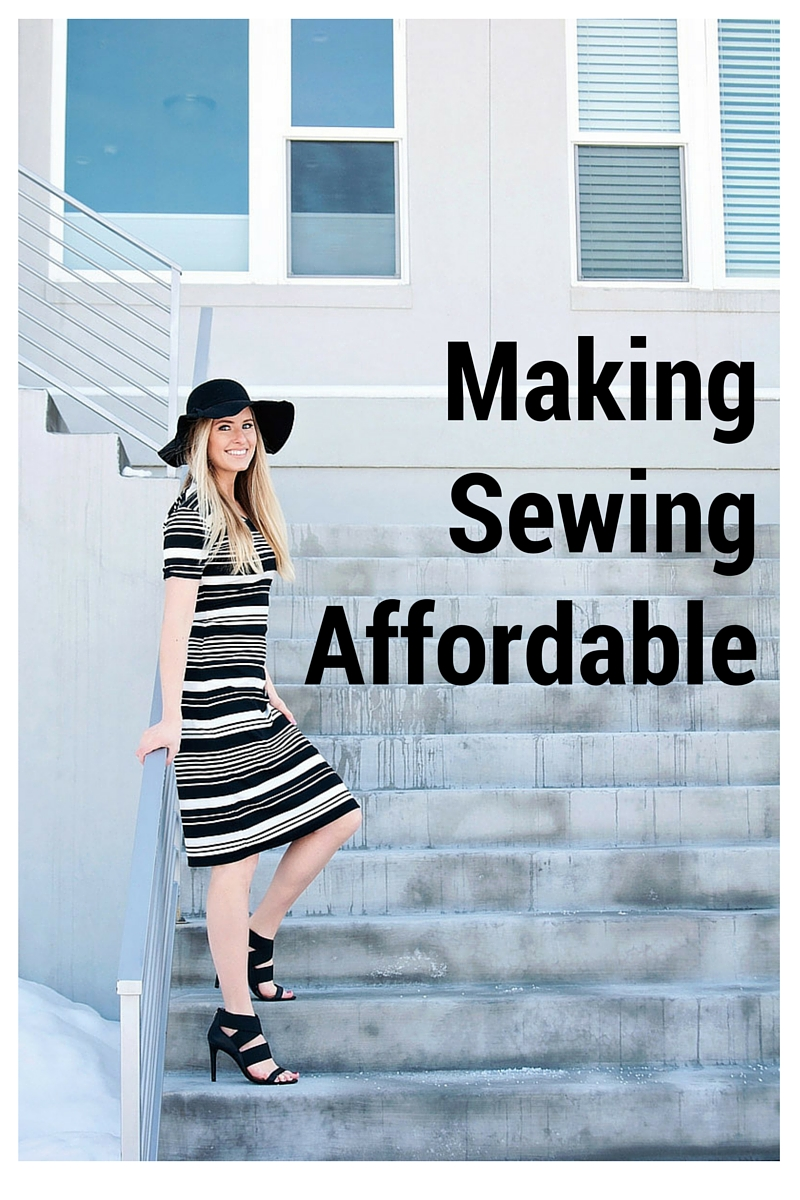 Great tips on how to save money on fabric, patterns, and supplies.