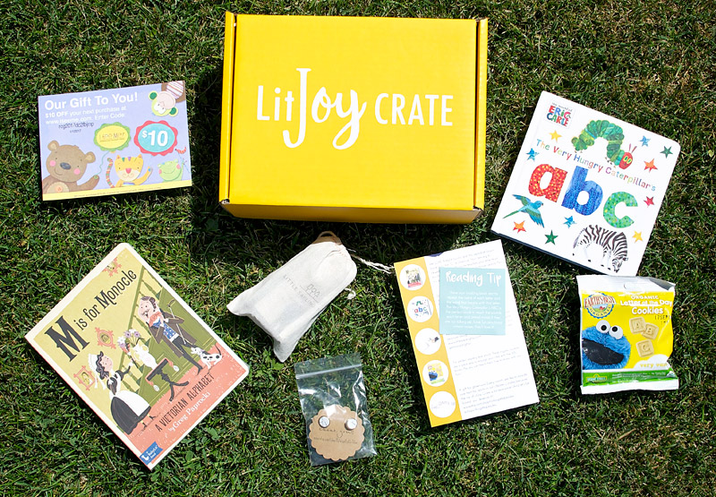 Need gift ideas? LitJoy Crate is an awesome book subscription box filled with high-quality books and curated items. They have different crates for different ages and month-to-month plans as well!