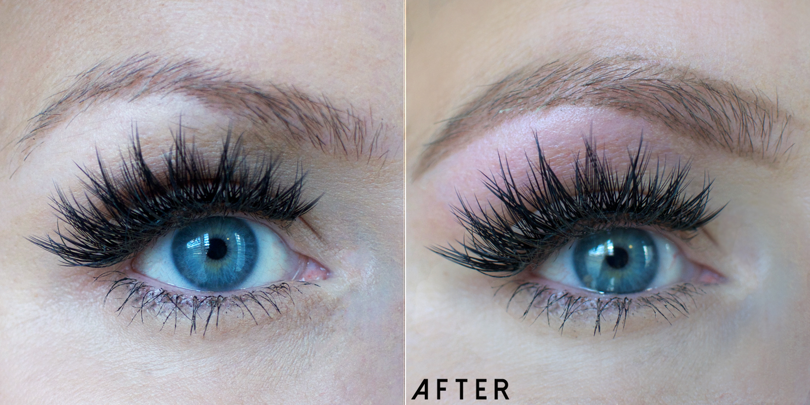 How to shape and wax your own eyebrows | How to Wax Your Eyebrows at Home by Popular Utah beauty blogger, Kara Metta: before and after image of waxed eyebrows.