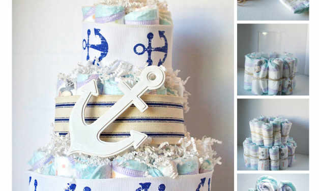 Baby Shower DIY: 3 Creative Ways to Give Diapers