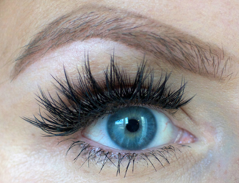 How to wax your eyebrows at home-- outline desired shape first. | How to Wax Your Eyebrows at Home by Popular Utah beauty blogger, Kara Metta: after image of waxed eyebrows.