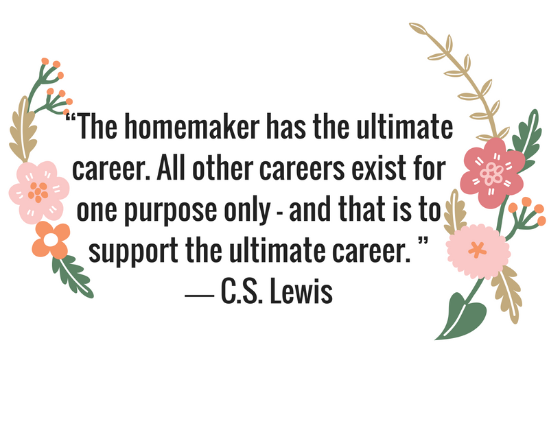 "C.S. Lewis Quote ""The Ultimate Career"""