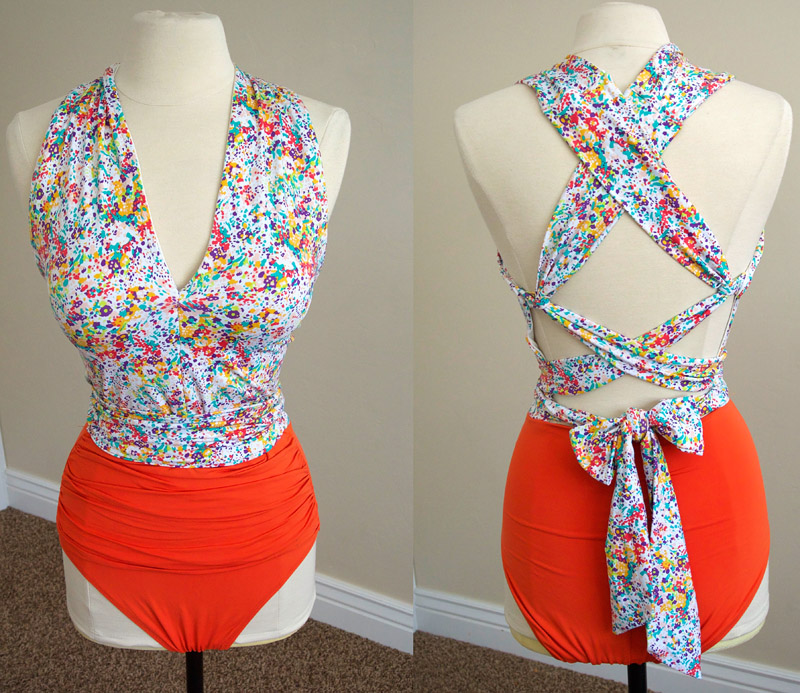 I made a swimsuit!