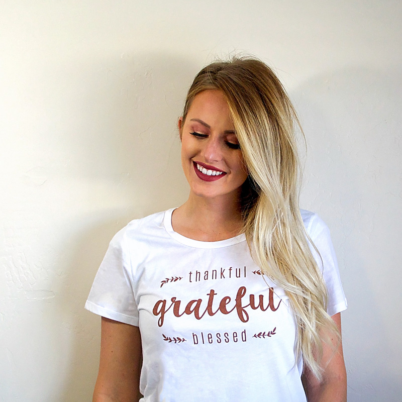 Grateful / Thankful / Blessed shirt