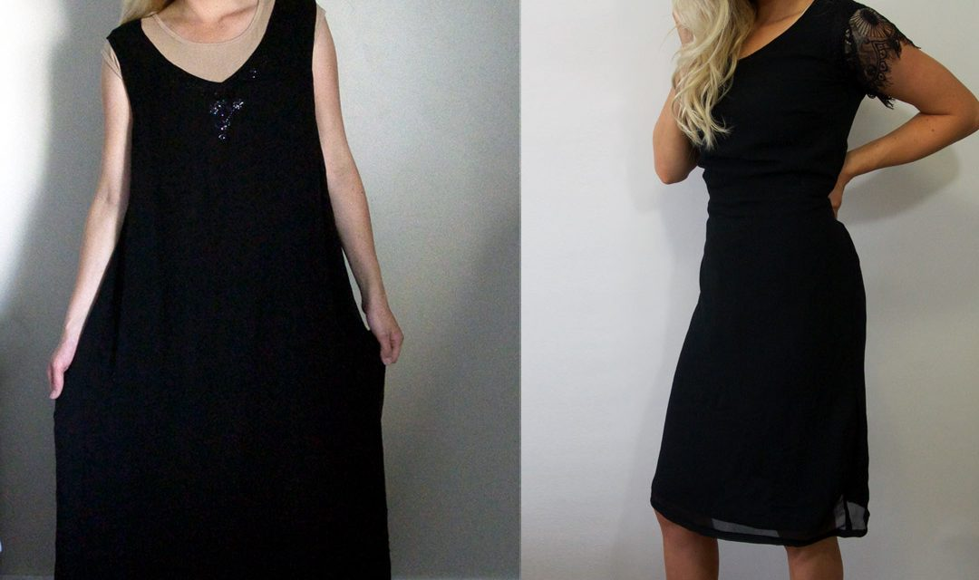 Silk Dress Refashion