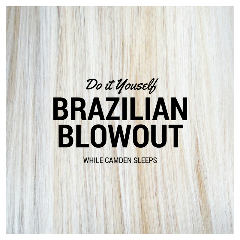 At home Brazilian Blowout / Keratin Treatment you can do yourself and can purchase from Amazon. Seriously, my hair has never been softer.