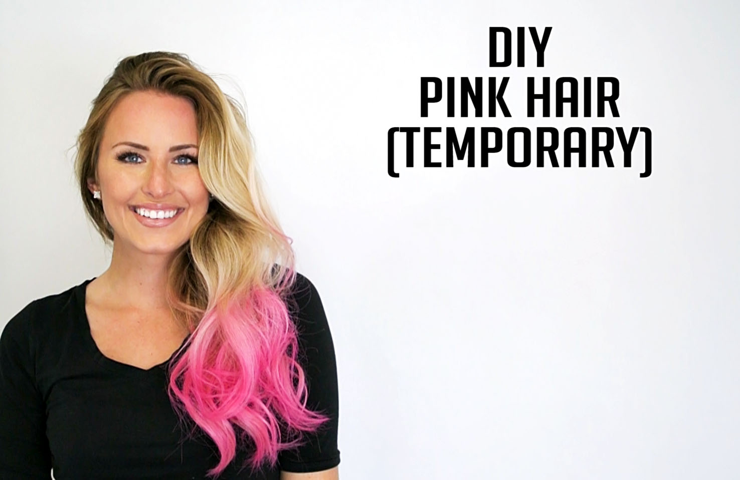 DIY Temporary Hair Color! Coats the hair so it works on all colors, looks great, and washes out completely on the first wash. Where has this been all my life? Ion Airbrush Tint for the win!