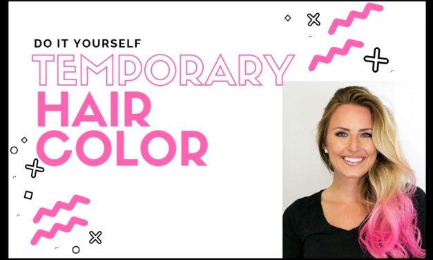 DIY Temporary Hair Color