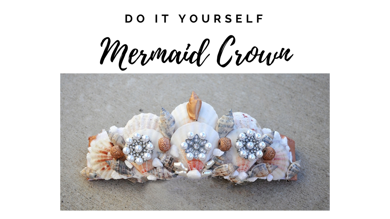 DIY Mermaid Crown Tutorial