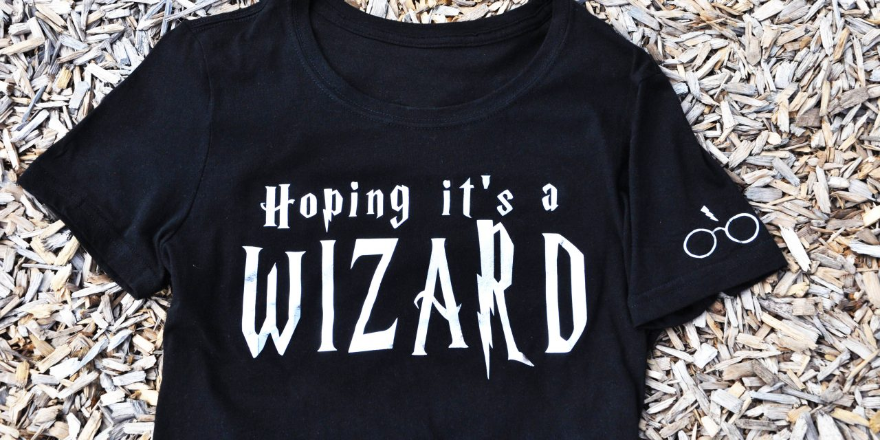 DIY Cricut Foil Shirt : Hoping It's a Wizard