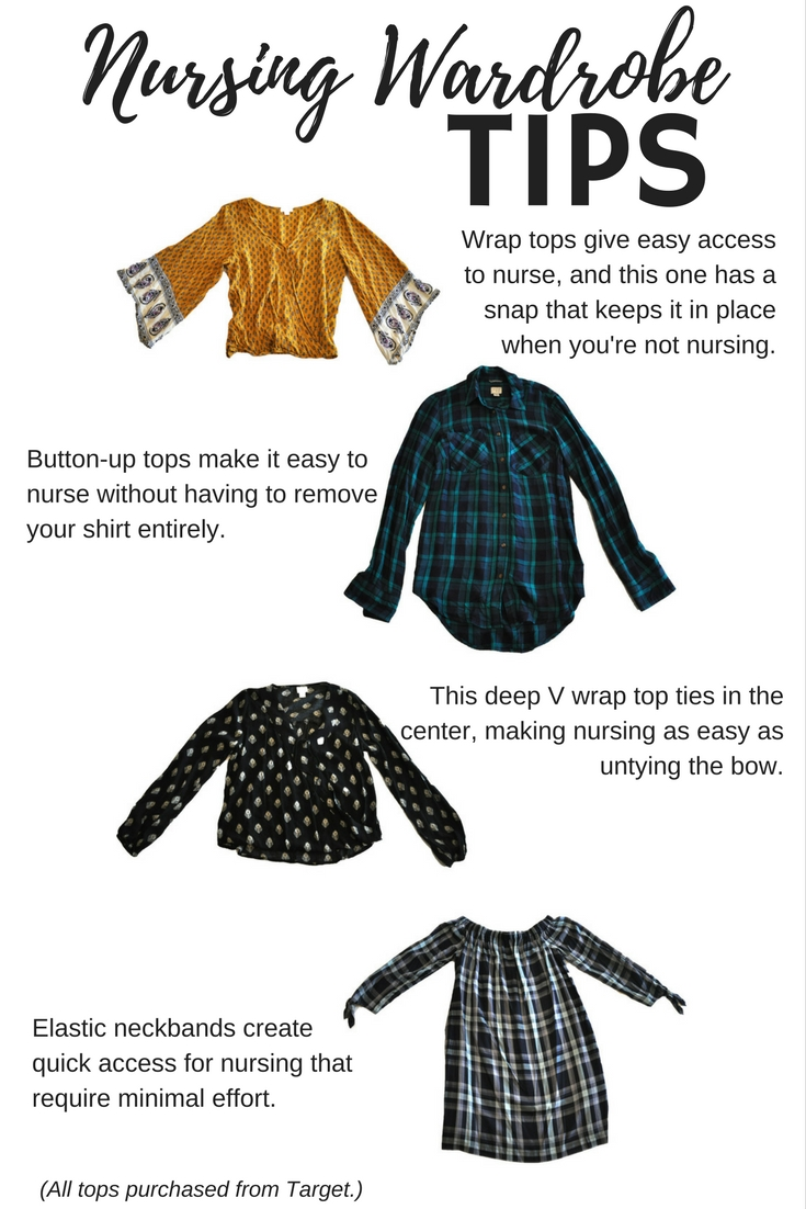 Nursing wardrobe tips