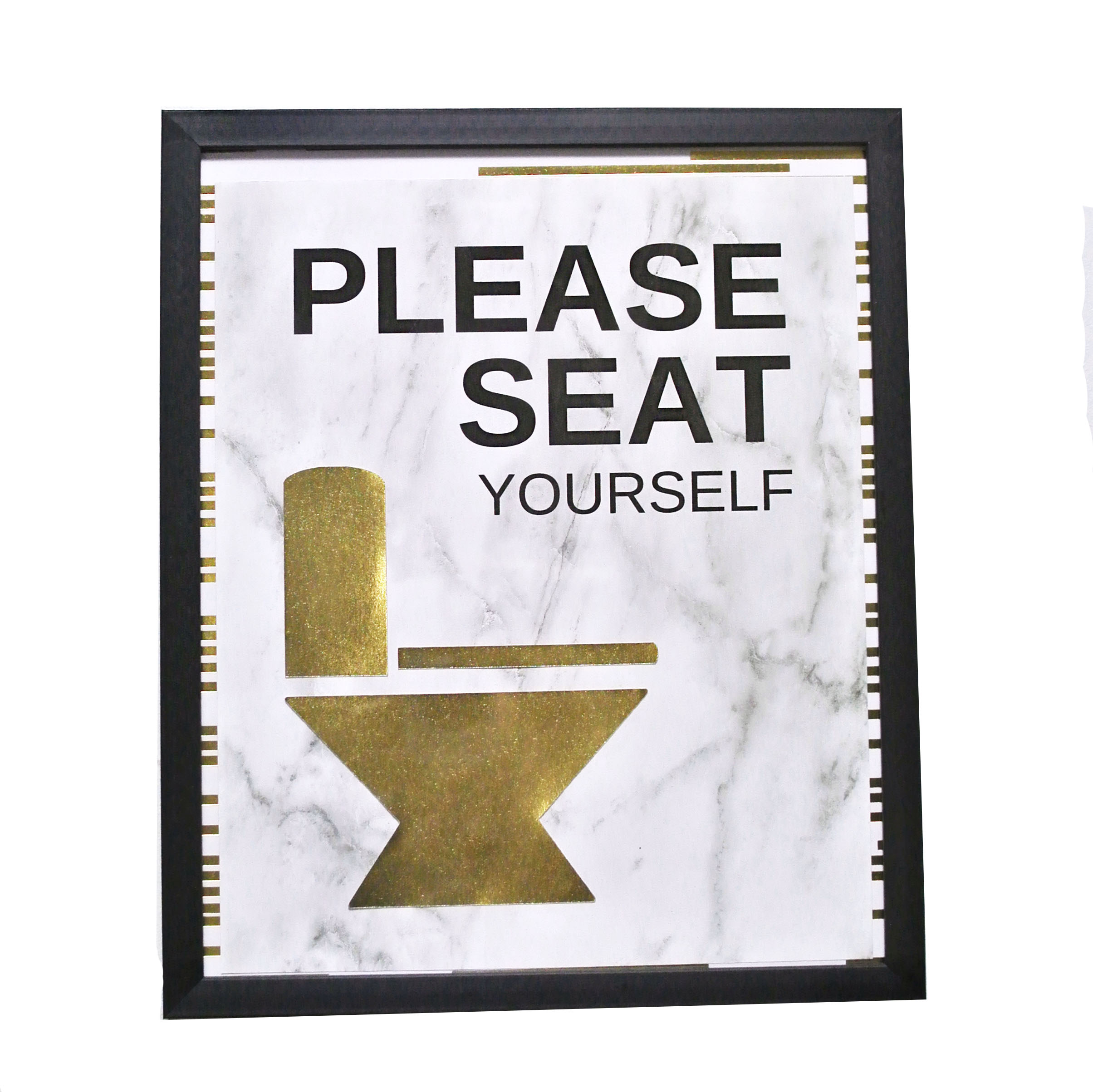 DIY Bathroom signs with your cricut machine. #handmadewithjoann