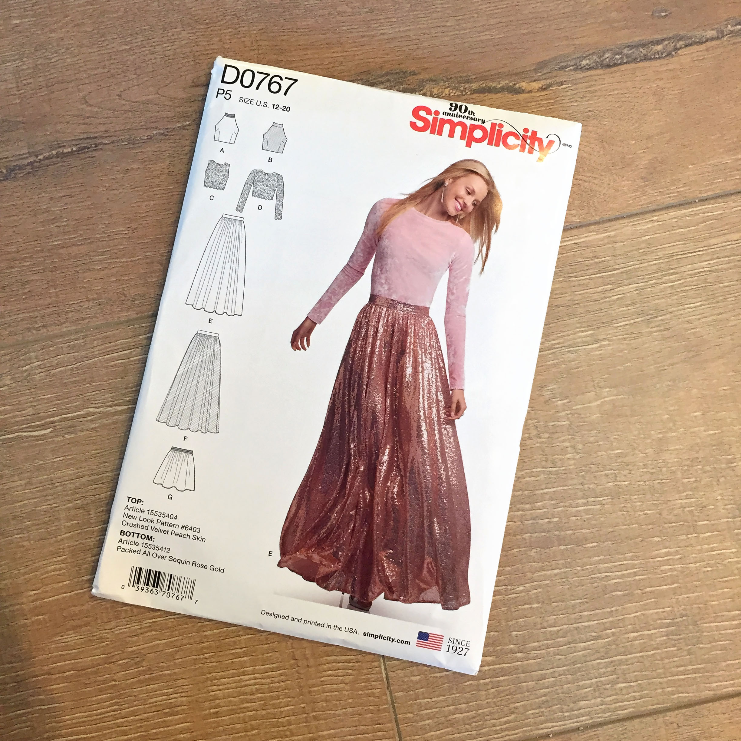 Simplicity D0767 Pattern Review