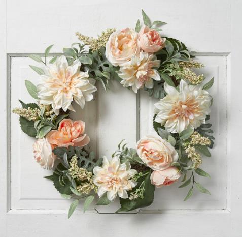 Gorgeous wreath from JOANN.