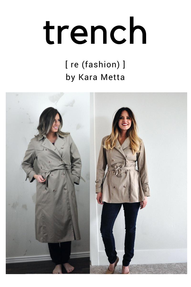 Refashion Series Episode 4: The Metta Trench
