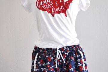 DIY pom pom shorts with @JOANN and kwiksew k4181. #handmadewithJOANN