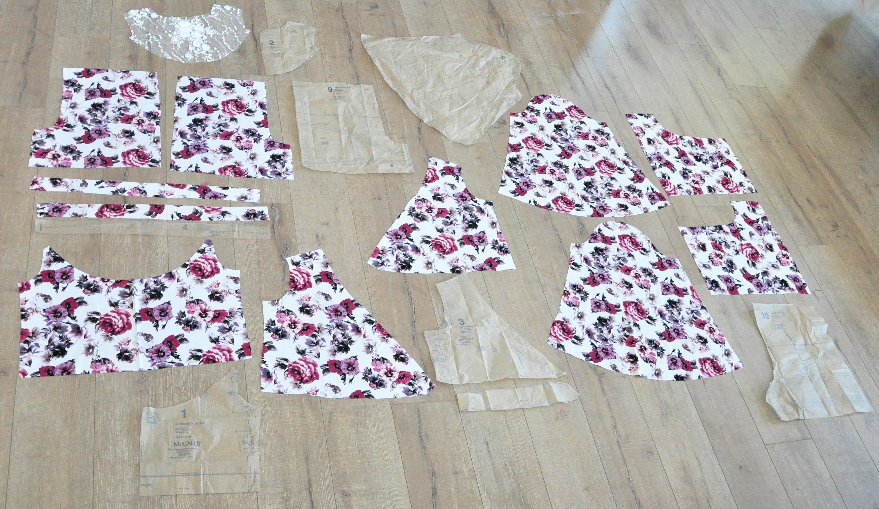 McCall's M7577 romper. Fabric from JOANN. #handmadewithjoann