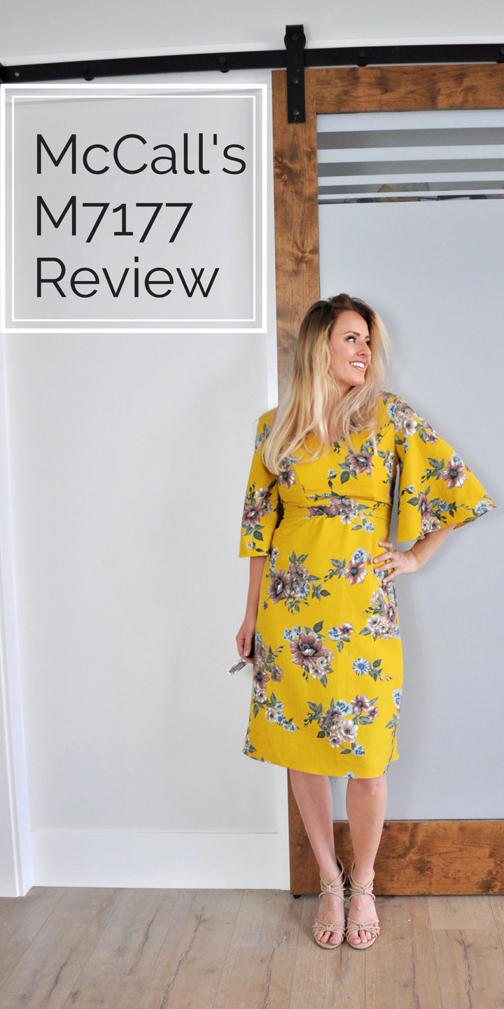 McCall's M7717 pattern review. The sleeves!!!