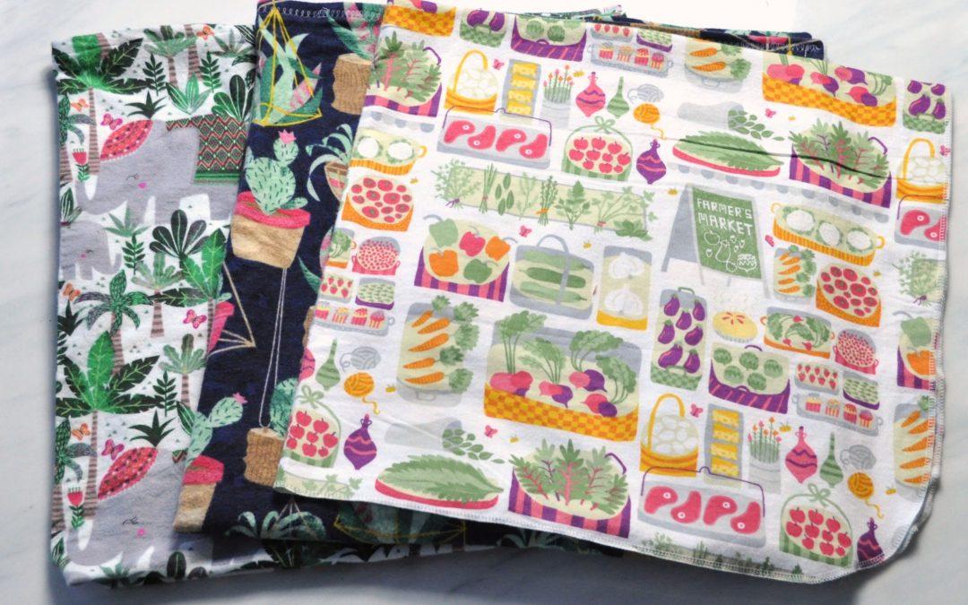 DIY Flannel Receiving Blankets 3 Easy Ways