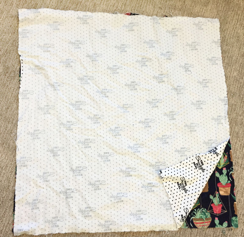 Baby blanket diy tutorial. Three easy ways to sew flannel receiving blankets.