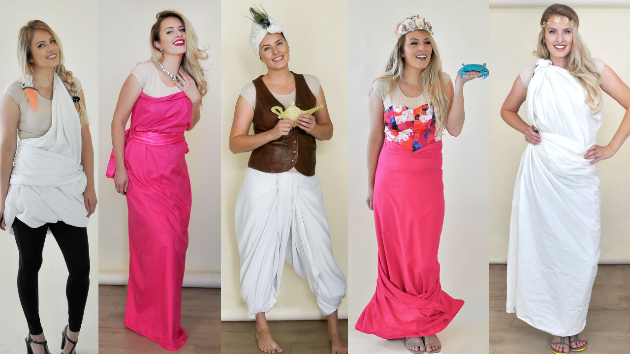 5 Creative Sheet Costumes–without damaging the sheets!