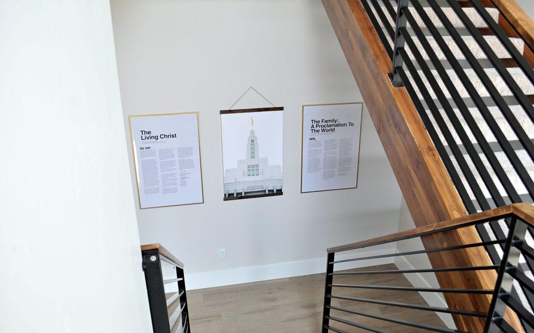 Large, modern, and affordable LDS Artwork