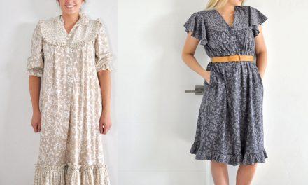 Refashion Series Ep. 5 The Metta Hawaiian Dress