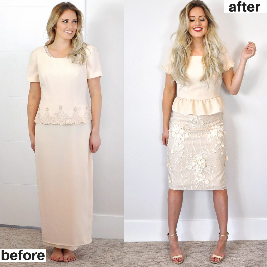 Refashion Series by Kara Metta, episode 12 The peplum set.  Love these refashions!