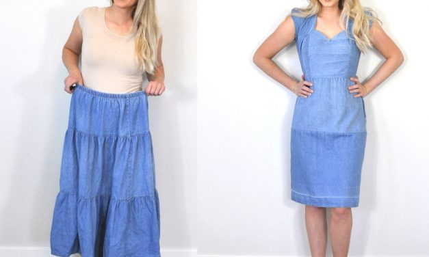 Refashion Series Ep. 13 The Metta Denim Dress