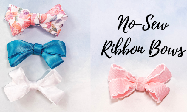 Easy No-Sew Ribbon Bows with JOANN Ribbon